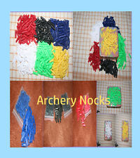 spare nocks 5.5 mm Hunting Target arrow nocks 6 Colours Pack Of 25 Pieces