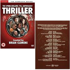 THRILLER 1-6 1973-1976 COMPLETE 70's British TV Series Season NEW R2 DVD not US
