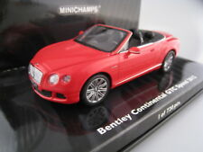 Bentley Continental GTC Speed Cabrio  Limitiert auf 720 Stück  Minichamps 1:43