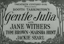 GENTLE JULIA (1936) DVD JANE WITHERS, TOM BROWN