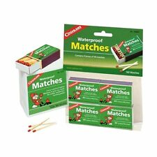 Coghlans Waterproof Matches, Pk Of 4 - Camping Outdoor Weather Rain Sailing