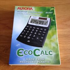 Aurora Desktop Calculator , Solar Only 12-Digit Big Number Display EC707