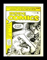 INSIDE COMICS #1, 1ST PRINT, 1974, ROBERT CRUMB, UNDERGROUND FANZINE NM