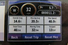 Garmin nuvi 205 GPS w/ map of Middle East + North Africa v. 2017.10. No US map.