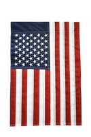 "Embroidered Stars American Flag 12""X18"" Show United States Patriotic Support"