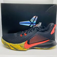 Nike Kobe Mamba Fury Black/Red Basketball Shoes Mens Size:10.5 CK2087-002