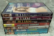 Exercise Dvd Lot/7 Jillian Michaels Killer Abs Extreme Shed Shred Ripped in 30 +