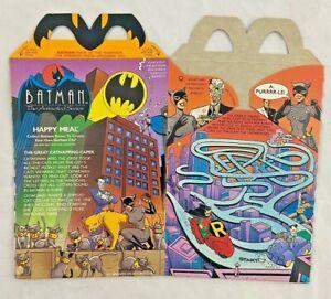Vintage - McDonalds - Batman - Catwoman - Happy Meal Box - 1993 - Unused