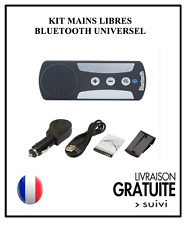 Kit mains libre bluetooth voiture road Mulitpoint Universel IPHONE SAMSUNG NOKIA