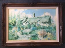 Signed 1992 Limited Edition Oil Painting No. 947 With Certificate By Marty Bell