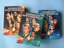 Lot DVD Mission Impossible Saison 1 et 2 et 3 intégrale coffrets zone 2