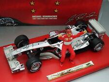 1/18 Hot Wheels FERRARI F2003GA  #1 M.SCHUMACHER SIX TIME WORLD CHAMPION