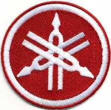 Toppa ricamata patch termoadesiva logo marchio YAMAHA cm. 8 personalizzabile