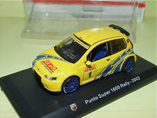 FIAT PUNTO ABARTH SUPER 1600 RALLY HACHETTE sous blister