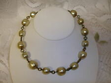 Old Baroque Pearl Necklace UNSIGNED MIRIAM HASKELL