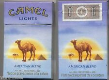 CAMEL LIGHTS cigarette Italy empty box '90 - very good