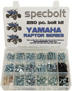 250pc Bolt Kit Yamaha Raptor 350 600 660 700