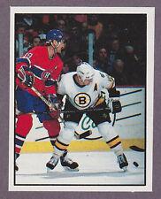 1988-89 Panini NHL Hockey Sticker Larry Robinson #195 Action Montreal Canadiens