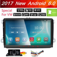 """For VW Jetta Passat Golf 9"""" HD Touch Car Stereo GPS USB Player Radio Android 6.0"""
