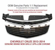 OEM Auto Parts Front Grille UPR+LOW Chrome For CHEVROLET 2013 - 2014 Cruze