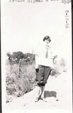VINTAGE 1926 GILMAN'S RELIEF HOT SPRINGS RIVERSIDE SAN JACINTO CALIFORNIA PHOTO