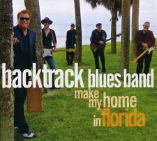 BACKTRACK BLUES BAND - MAKE MY HOME IN FLORIDA  2 CD NEU