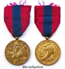 Médaille Défense Nationale. Armée Nation. France