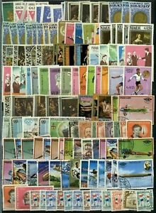 Paraguay Stockpage Full Of Stamps #W2795