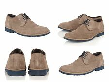 Mens boys lotus robson shoes suede Brogues Size 6 UK 40 EU
