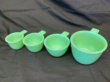 Jadeite 4 pc MEASURING Cup SET