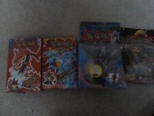 YU-GI-OH LOT - 2 MODEL KITS AND 2 PACKAGED FIGURES