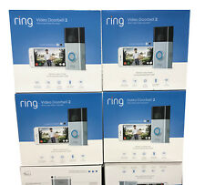 Ring Wireless Video Doorbell 2 Newest Version 1080p HD WiFi 8VR1S70EN0 New