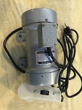 Concrete Vibrator Vibration Motor 1/3hp .28kw No HST No Duty Ships from Canada