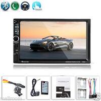 "7""HD Auto Radio Bluetooth Touchscreen Car Audio GPS 2 DIN FM/MP5/MP4/MP3/USB/AUX"