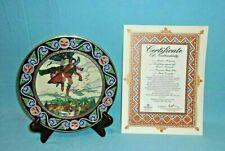 Villeroy & Boch Russian Fairy Tales Koshchey Carries Off Maria Morevna Plate-NIB