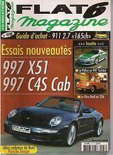 FLAT 6 178 PORSCHE 997 CARRERA S CAB X51 997 C4S CAB 911 2.7 997 TECHART POLIZEI