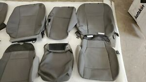 Ford F-150 Super Crew XLT OEM Factory Cloth Seat Covers 2015-2018