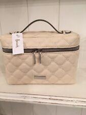 Harrods Cream Make Up Bag