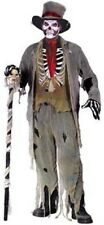 Deluxe Halloween Grave Groom James Bond Baron Samedi Fancy Dress Costume P6066