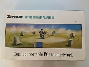 XIRCOM PE3-10B2 POCKET PARALLEL to ETHERNET ADAPTER III   brand new in box