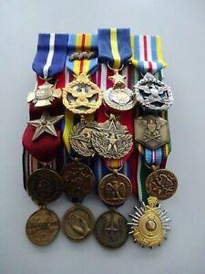 US Kleine Ordensspange General Navy Cross usw. 16 Orden