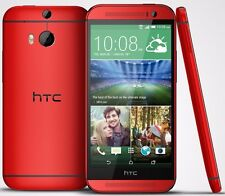 Android 5'' Unlocked HTC One M8 32GB 4G LTE Quad-core Smart Phone - RED