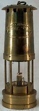 E Thomas & Williams Cambrian Brass Miner's Lantern Lamp Aberdare Free Ship in US