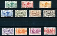 NEW HEBRIDES 1953 DEFINITIVES SG68/78 MNH