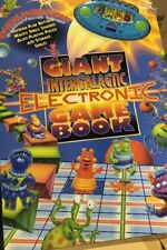 """Brand New Giant Intergalactic Electronic Game Board Book 15.5"""" x 23"""""""