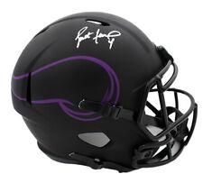 Brett Favre Signed Minnesota Vikings Speed Full Size Eclipse NFL Helmet