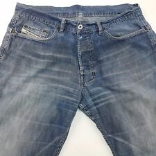 Diesel RAVIX Mens Vintage Jeans W36 L32 Blue Relaxed Loose Fit Bootcut High Rise