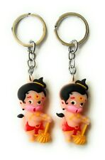 Hanuman Figurine Soft Rubber Key Chain Holiday Party Gift