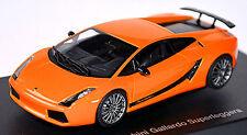 1/43 Autoart Lamborghini Gallardo Superleggera (naranja)