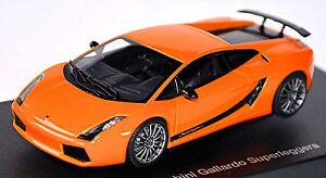 Lamborghini Gallardo Superleggera 2007 Orange Métallique 1:43 Autoart